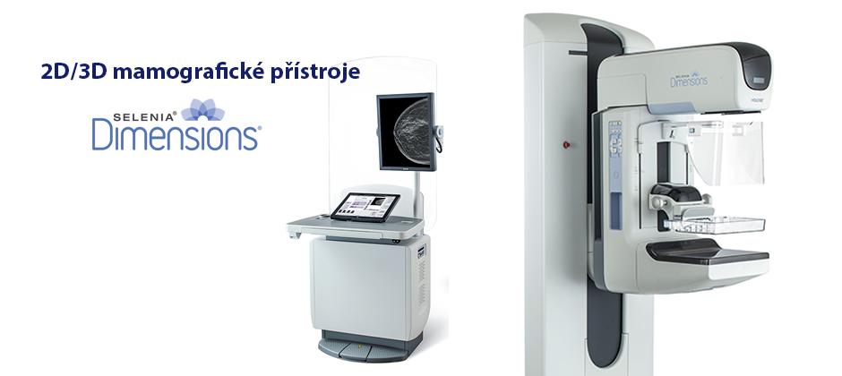 Systémy pro mamografii